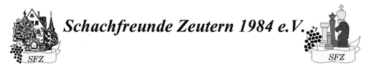Schachfreunde Zeutern 1984 e.V.
